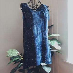 Sparkly Blue Top